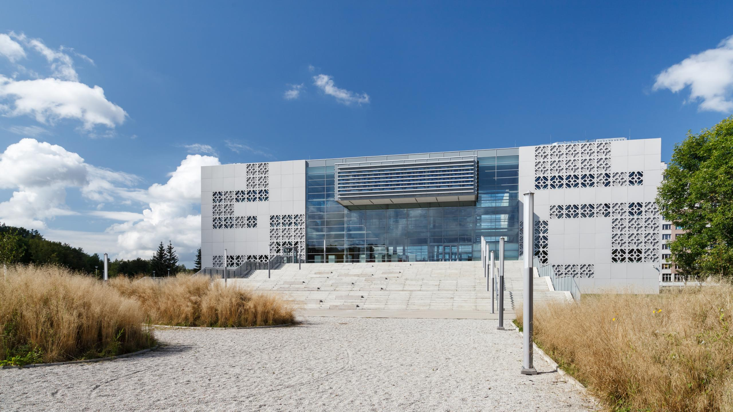 Photograph of Center of Modern Education, designed by AA_Studio/Group-Arch and located in Białystok, Poland