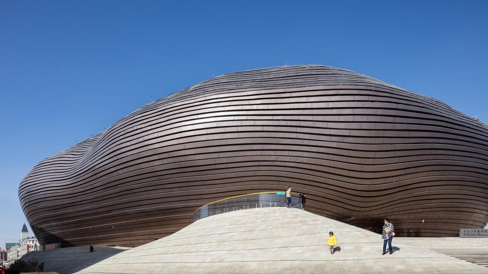 Cover photo of image set from Ordos Museum, designed by MAD Architects and located in Ordos, China. All photos by Pawel Paniczko Architectural Photography