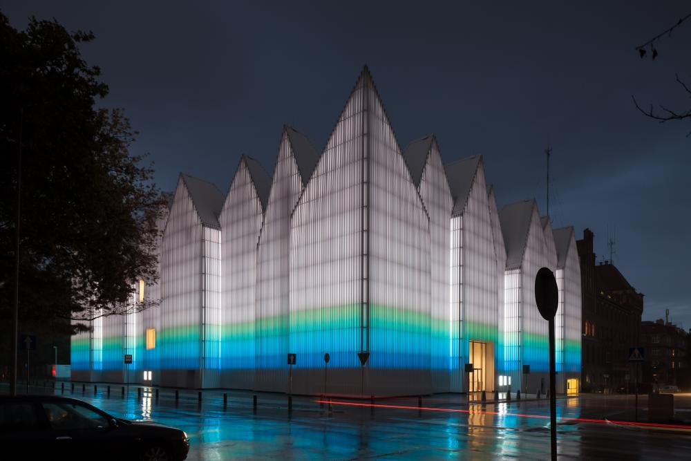 Cover photo of image set from Szczecin Philharmonic Hall, designed by Estudio Barozzi Veiga and located in Szczecin, Poland. All photos by Pawel Paniczko Architectural Photography