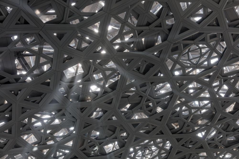 Cover photo of image set from Louvre Abu Dhabi, designed by Ateliers Jean Nouvel and located in Abu Dhabi, United Arab Emirates. All photos by Pawel Paniczko Architectural Photography